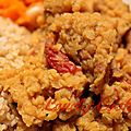 Curry de lentilles corail aux tomates séchées