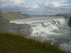Les chutes de Gullfoss