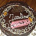 Le 3 chocolats sur croustillant pralinoise
