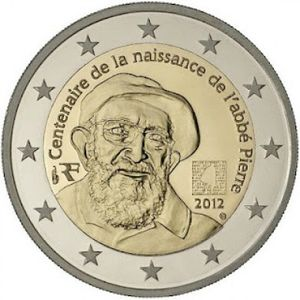 2 Euros commemorative France 2012 - Piece neuve UNC