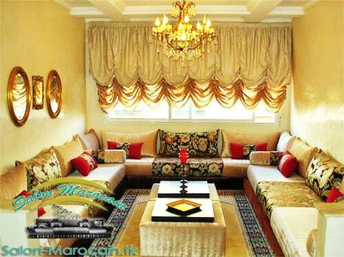 Salon marocain high class - Salon marocain moderne