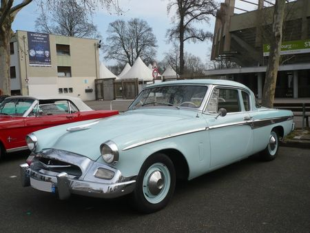 STUDEBAKER Champion 2door Sedan 1955 Strasbourg (1)