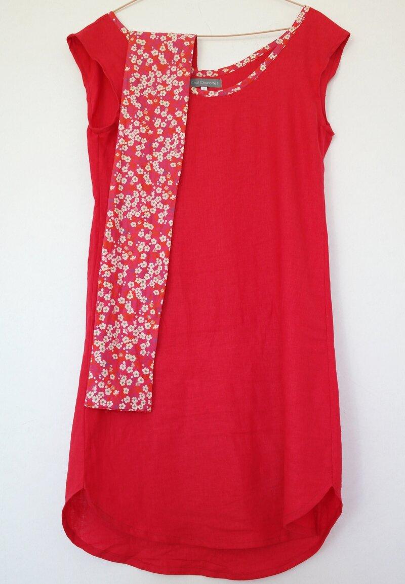 Robe lin rouge_Chut Charlotte (5)