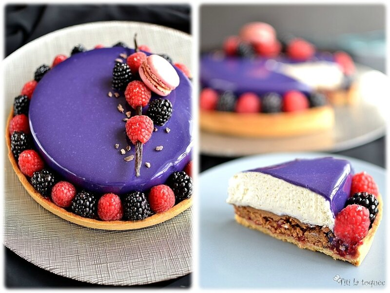 Divine tarte vanille et fruits rouges1