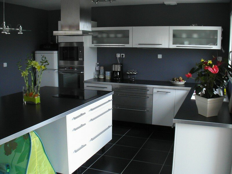 Photos des travaux d 39 am nagement int rieur la for Cuisine equipee 6m2