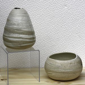 Michel Caut - Céramiques 1C - Porcelaines