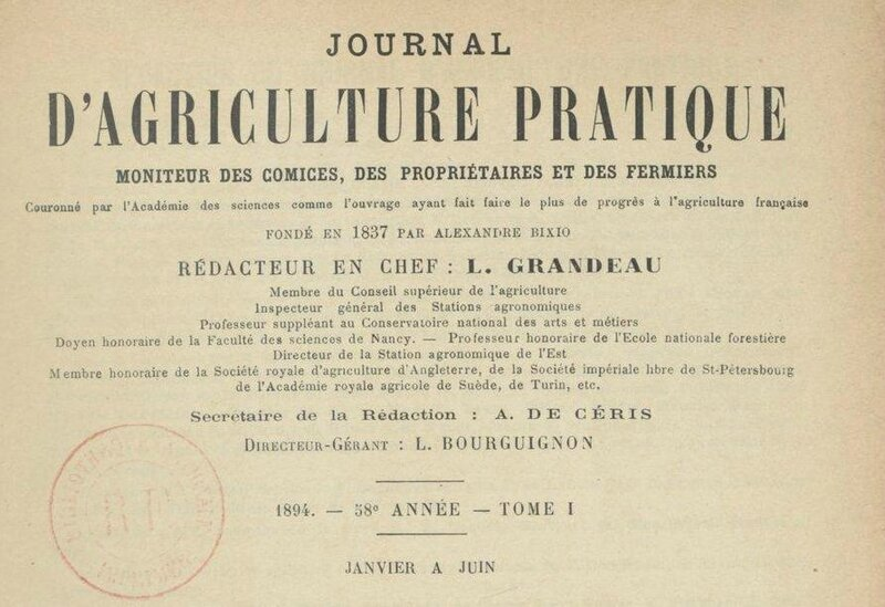 Journal d'agriculture 1894 T1_1