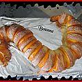 Serpent brioché dessert halloween (10)