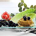 Camembert pané aux raisins.....