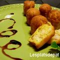 Mini cannelés salés crevette curry