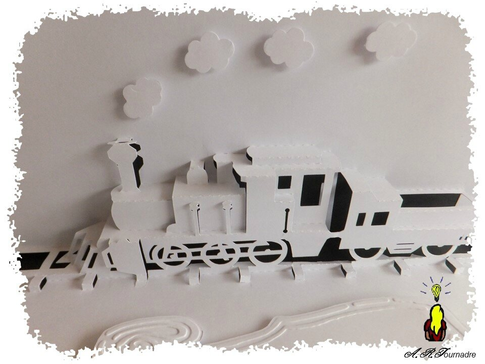 ART 2014 12 train kirigami 3