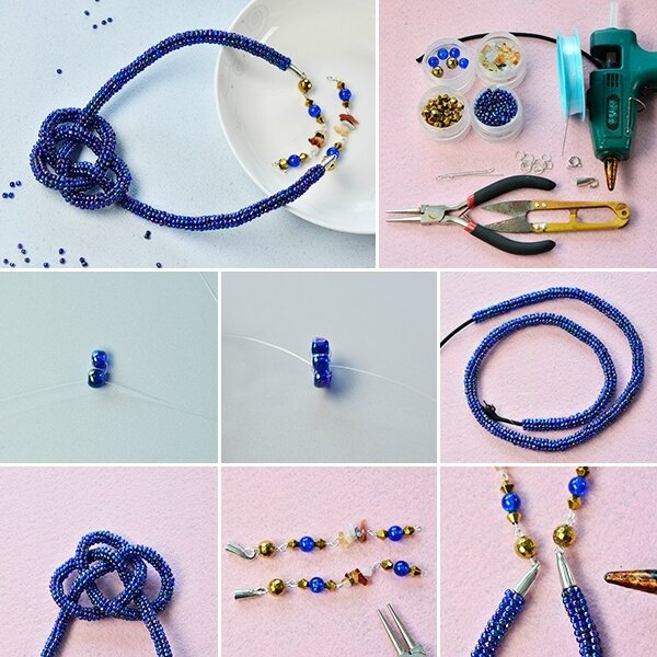 600-Detailed-Instructions-on-How-to-Make-a-Handmade-Blue-Seed-Bead-Stitch-Necklace