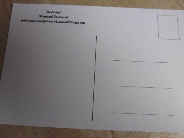 Carte postale - Salomé (1)