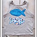 t-shirt poisson