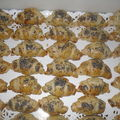 Mini croissants au saumon fume