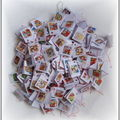 etiquettes pour paquets cadeaux Noel de la part de ma fille