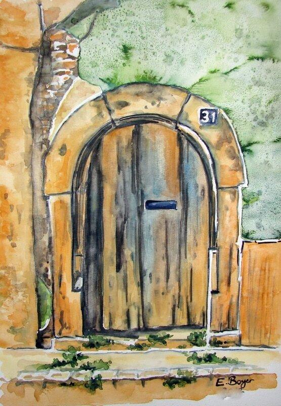 DD 167 une porte