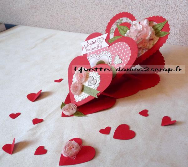 Carte pour la saint valentin a fabriquer id es de conception sont int ressants - Carte saint valentin originale ...