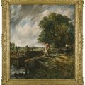 Constable's celebrated composition the lock sells for $13.7 million at sotheby's london