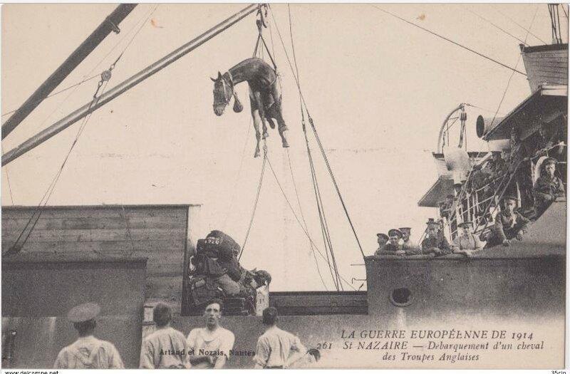 St-Nazaire_le port 1917