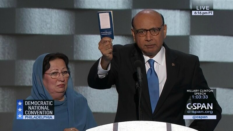 Khizr Khan demo convention 2016
