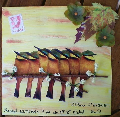 57~Oiseaux pour Chantal