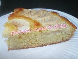 Gâteau moelleux pommes frangipane52