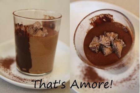 Mousse chocolat et Mars 2