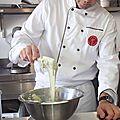 Cours de macarons à l'atelier des chefs