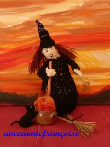 sorcière en pied