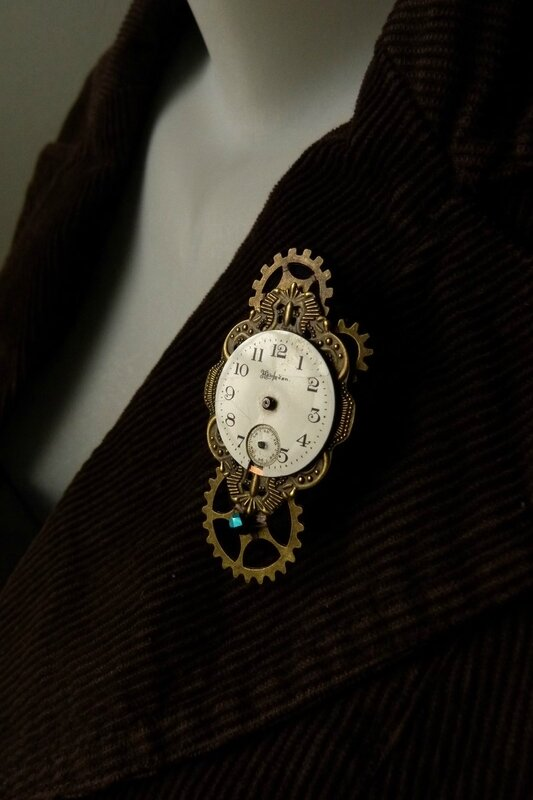 broche steam 2018 01 The Clock (2)