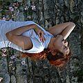 Performance Danse, Sculpture et Musique, 2,Itinéraire d' Artistes, Photo Pays de Saintonge Romane