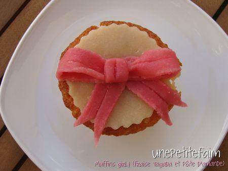 Muffins girly - 6 - ruban