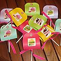Candy party ... les invitations