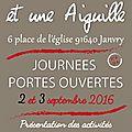 Journées portes ouvertes 2 et 3 septembre 2016