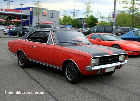 Opel commodore GSE coupé (Rencard Burger King mai 2012) 01