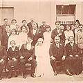 Mariage à Château-Arnoux de Melle AILLAUD (Les deux frères RICHA