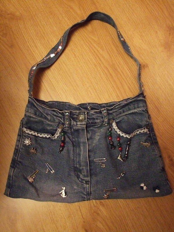 sac à main en jean