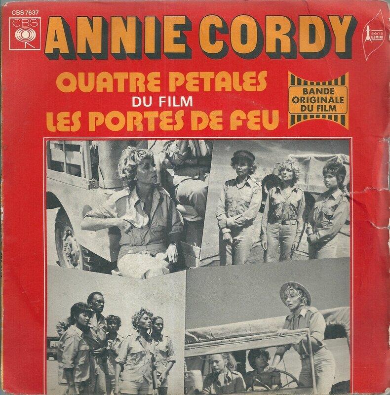 Annie Cordy - Quatre pétales