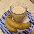 Smoothie bananabricot, simple et frais
