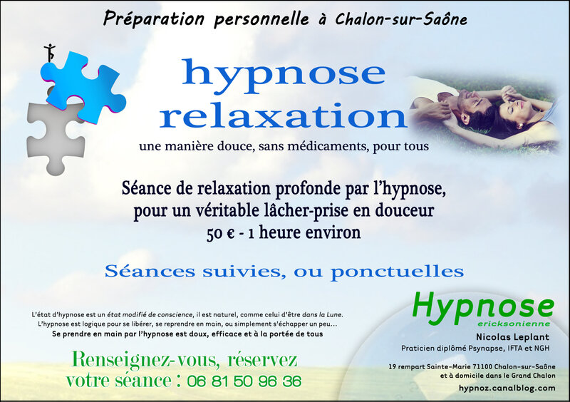 Séance Relaxation Hypnose