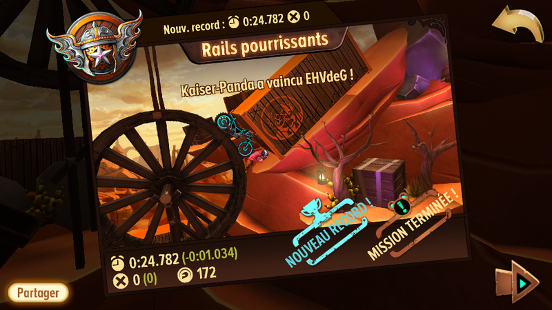 Trials Frontier - Record Rail Pourrissant