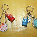 Porte-clés pour maîtresse et atsem.