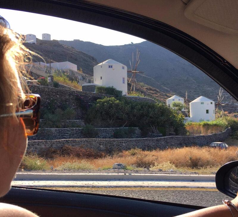 en voiture Santorini_etsionjasait