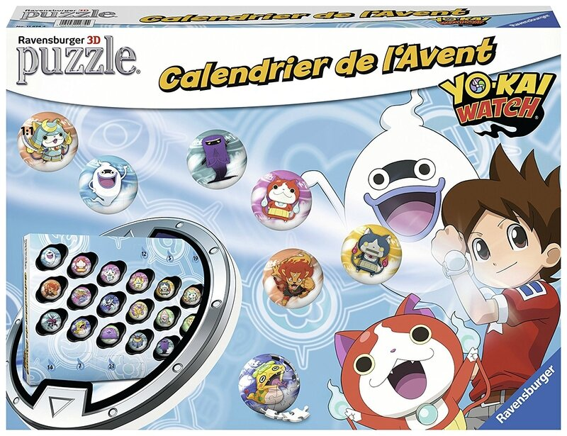 calendrier Yokai watch