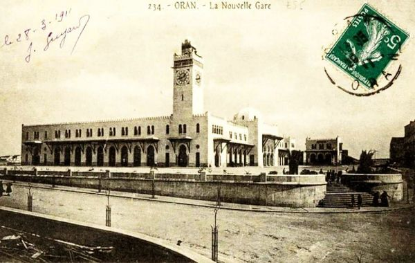 Oran- La gare PLM 10