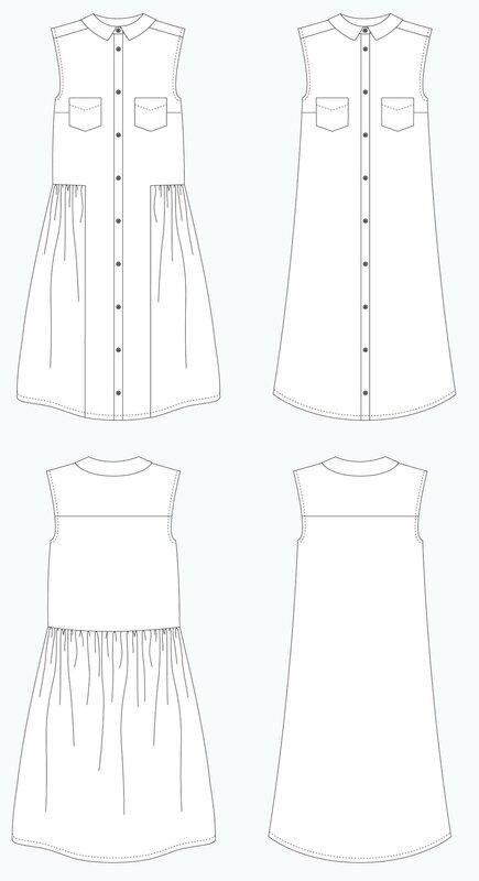 Grainline Studio - Alder Shirtdress