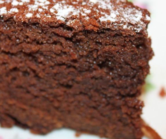 gâteau moelleux au chocolat - un zebre sans rayures
