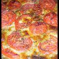 Pizza tomates/mozzarella