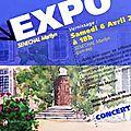 Exposition vernissage le 6 avril à partir de 18h !!!